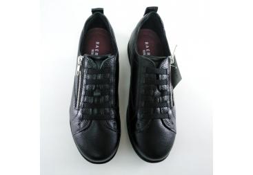 Zapato de señora piel negro Baerchi