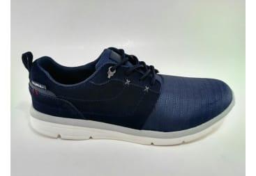 Zapatilla vestir sport azule marino yumas