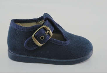 Batilas zapatilla de niño azul marino