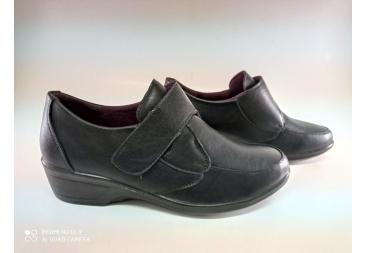 Balleri zapato señora negro