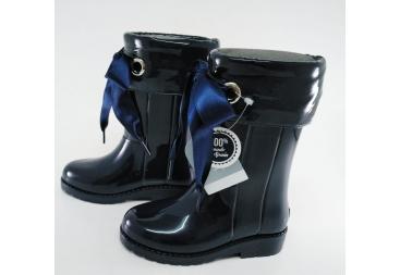 Igor bota de agua niña azul marino