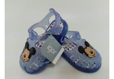 Sandalia de playa cangrejera Mickey