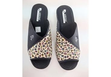 Andinas chancla señora verano leopardo