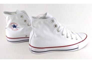 Converse botín blanco