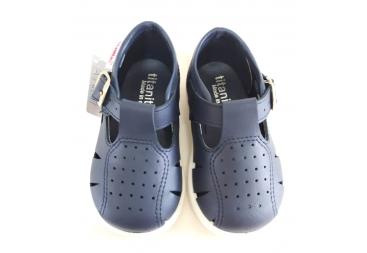 Titanitos zapato sandalia niño azul marino