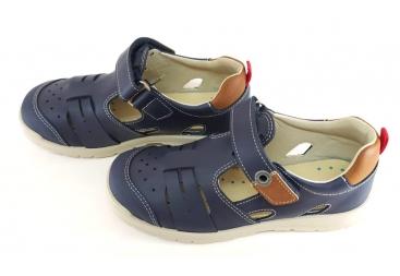 Titanitos sandalia niño piel