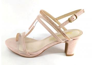 Prestigio sandalia de señora rosa