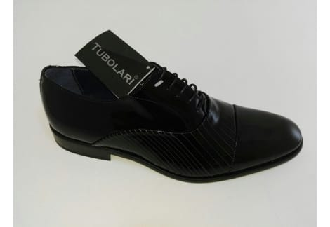 Zapato de piel charol N Cordo