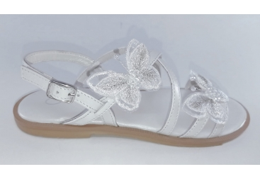 Oca Loca sandalia de vestir blanco