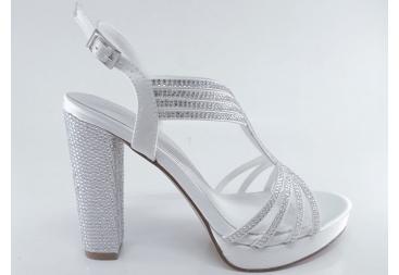 Menbur sandalia blanca