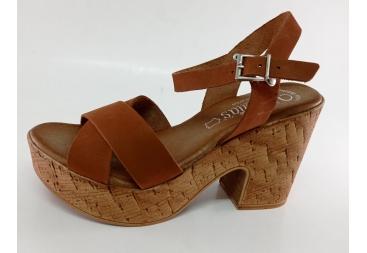 Valerias sandalia señora corcho