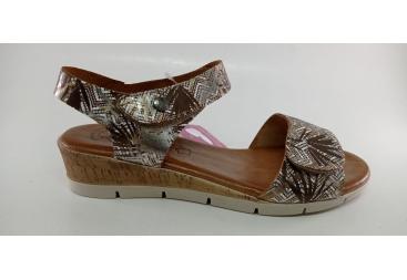 Valerias piel sandalia