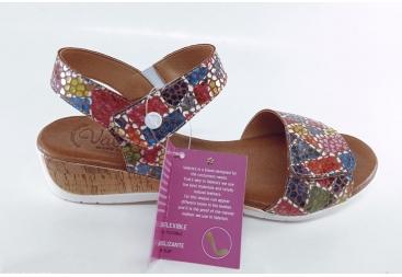 Valerias sandalia multicolor