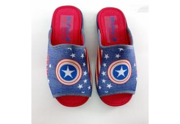 Capitan America zapatilla niño casa