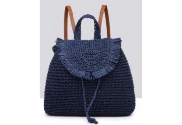 Mochila color azul