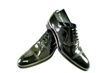 Zapato traje charol Negro