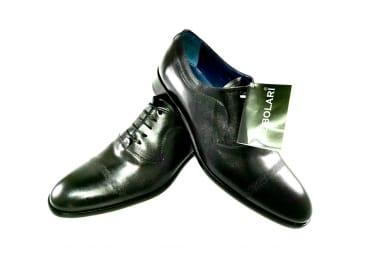 Zapato piel traje Negro