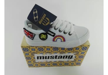 Zapato Mustang Lona Unisex