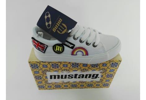 Zapato Mustang Lona Unisex