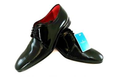 Zapato piel charol N traje