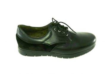 Zapato combi piel ante
